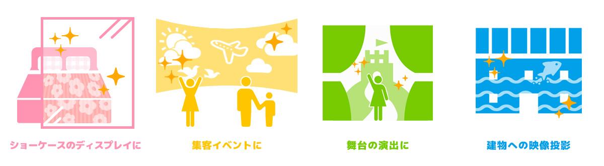 プロジェクションマッピング | 金沢市オー・ケー・デザイン スタジオ